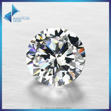 top quality fatory gems supply synthetic white diamond price