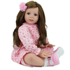 24 inch Reborn baby dolls Lifelike toddler Girl doll soft silicone Fridolin Dolls Princess Toys