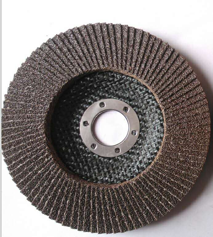 High quality calcined aluminum oxide flap disc for metal and stainless steel