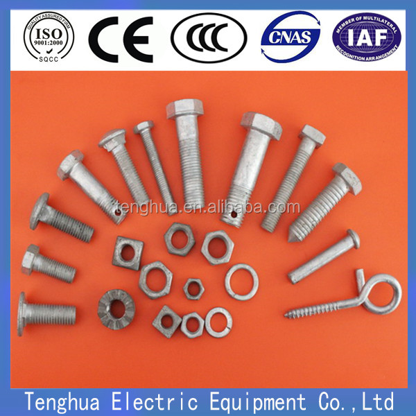 High Quality Track Bolt for Railway Fastening