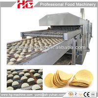 HG automatic potato chips fryer machine