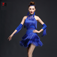 2018 new design latin dance dress costumes new fashion latin dance dress