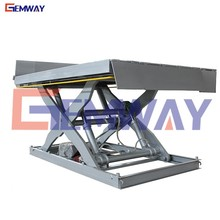 Factory price hydraulic mini in-ground aerial mechanical scissor lift