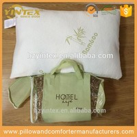 Professional CE Approved Memory Foam Bamboo Small And Soft Pillow