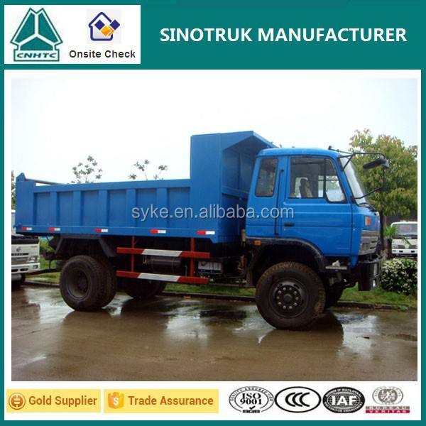 China Dongfeng 6 Wheels 10 Ton Sand Tipper Truck for Hot Sale