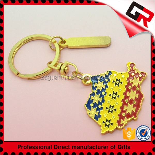 Best quality Attractive shopping cart chip keychain