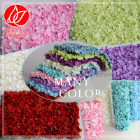 150680 2016 cheap sale hydrangea artificial flowers silk flower wall wedding background decoration