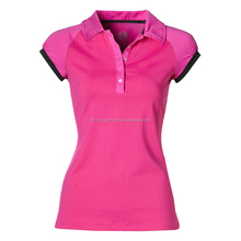 women slim fit polo shirts customized