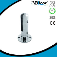 lost wax casting stainless steel balustrade glass clamp/spigot /saddle clamp