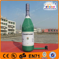 2014 customized inflatable advertisement for shampoo bottle