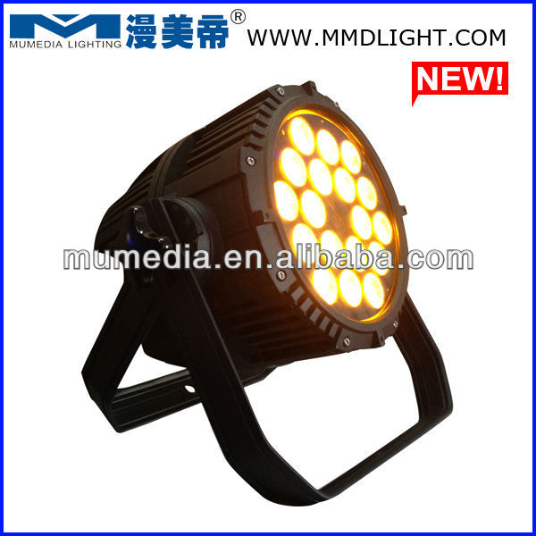 18*10w 5in1 rgbwa par 64 led