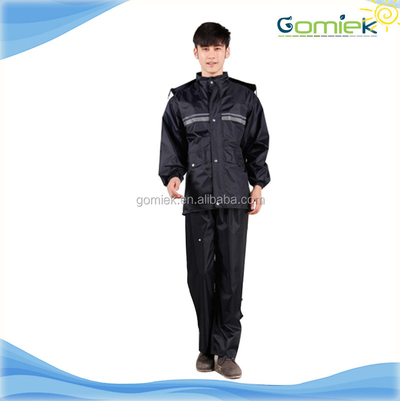 Men Motorcycle Clothing Rain Suits Outdoor Riding Raincoat with Pants