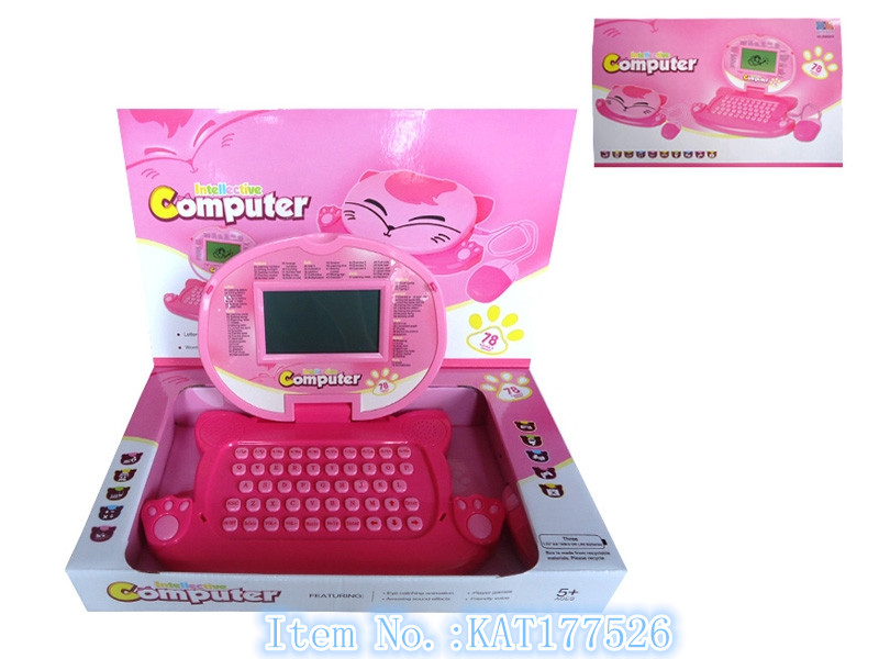 Hight Quality English Language Learning Laptop Computer Toys For Kids