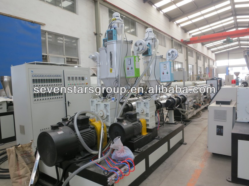 three layer PE/PP pipe extrusion line