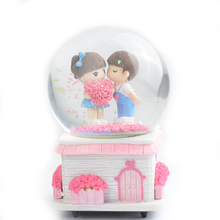 Wedding Dedicated High-quality Music Wholesale Decoration Snow Globe