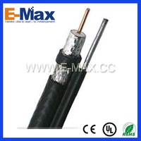 High quality best price RG11 Coaxial Cable with Messenger - EC-C111016