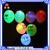 Hot sale Custom Printing Logo Inflatable ufo Small Helium led Balloons