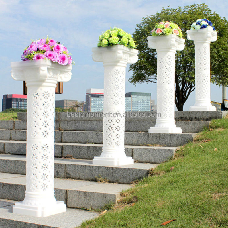 Great Wedding Decorative Plastic Roman Column