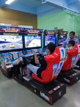 China factory racing game machine moto gp simulator arcade game machine car racing electronic game