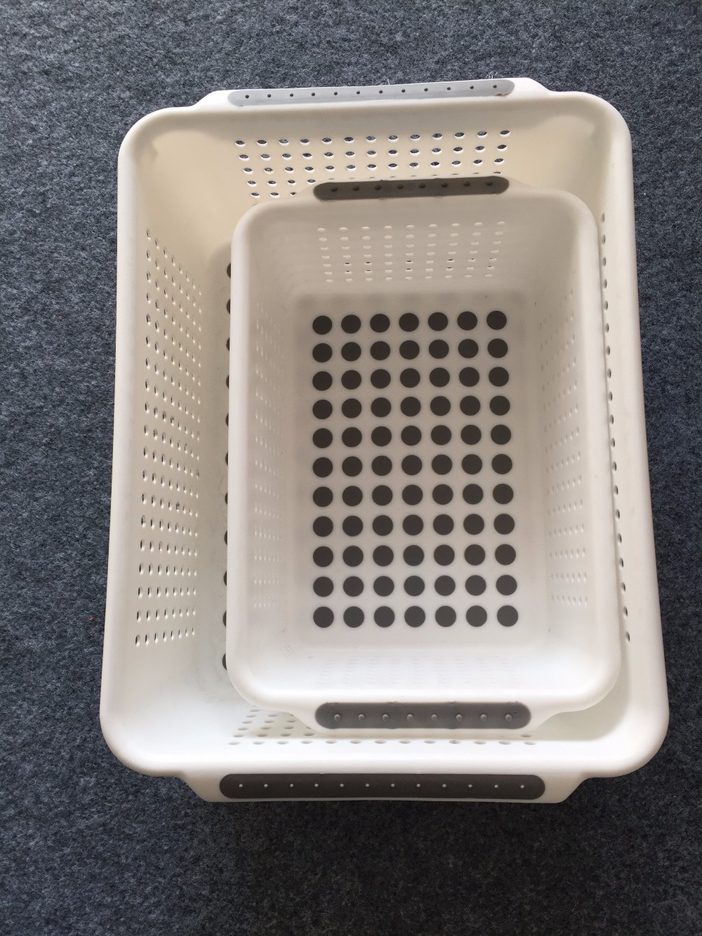 non-slip storage baskets(large)