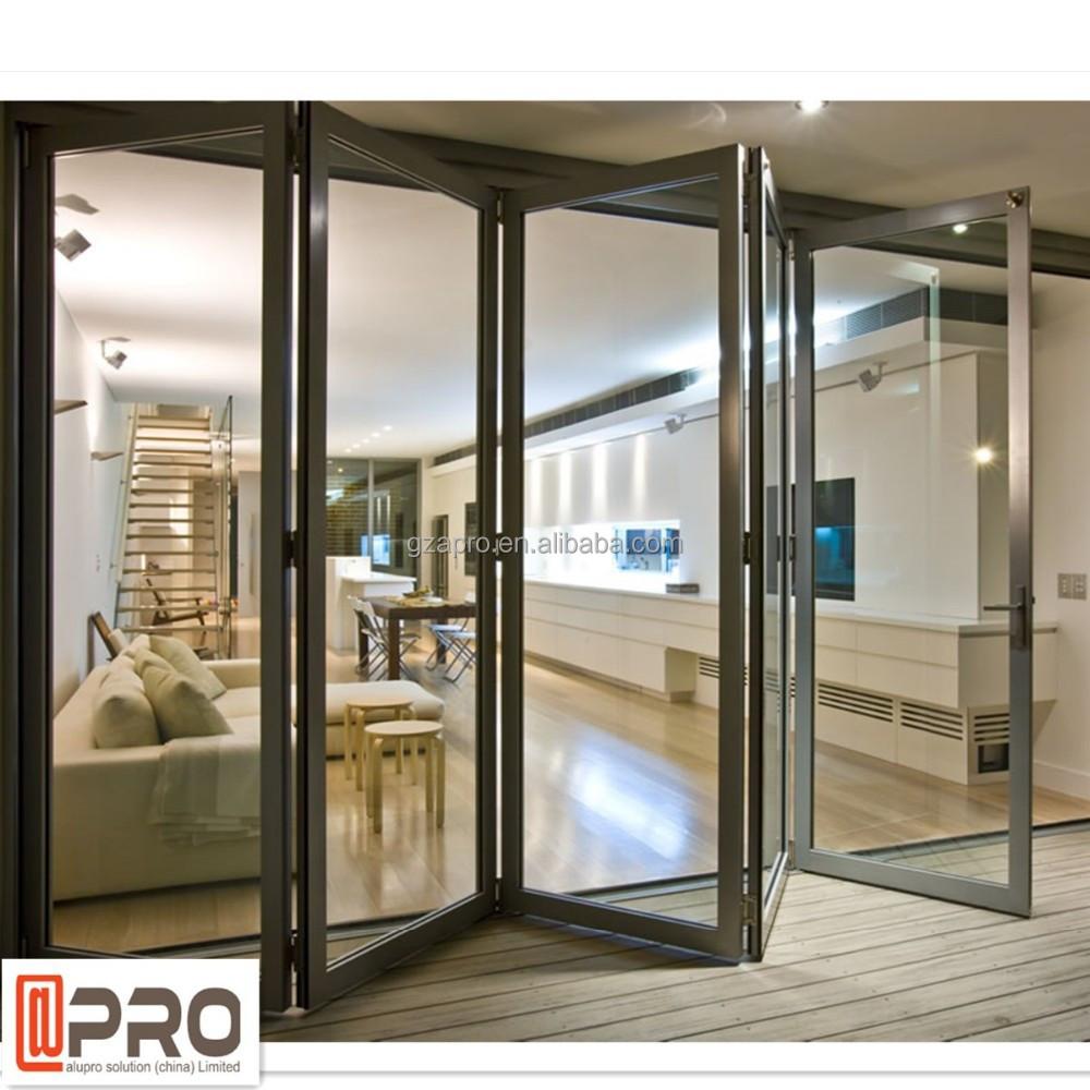 china hersteller aluminium glas faltwand haus tor design. Black Bedroom Furniture Sets. Home Design Ideas