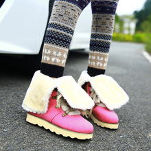 Mexican women boots 2017 flat snow boots women boots fashion