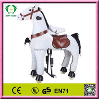 Hot sale HI EN71 toy horse carriage,toy horse walking,toy horse