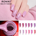 RONIKI Gel Nail Polish Factory Cheap Wholesale Easy Soak Off Uv Gel Nail Polish For Nail Salon