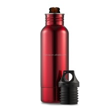 Best Selling Products Custom Color Insulated Bottle Holder,Stainless Steel 18/8 Wine Keeper,Double Walled Insulator Holder