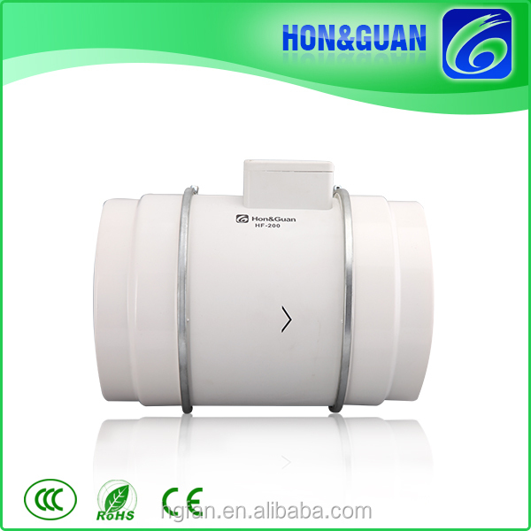 2016 Guangdong New professional bathroom Ventilating cylindrical duct Fan for home