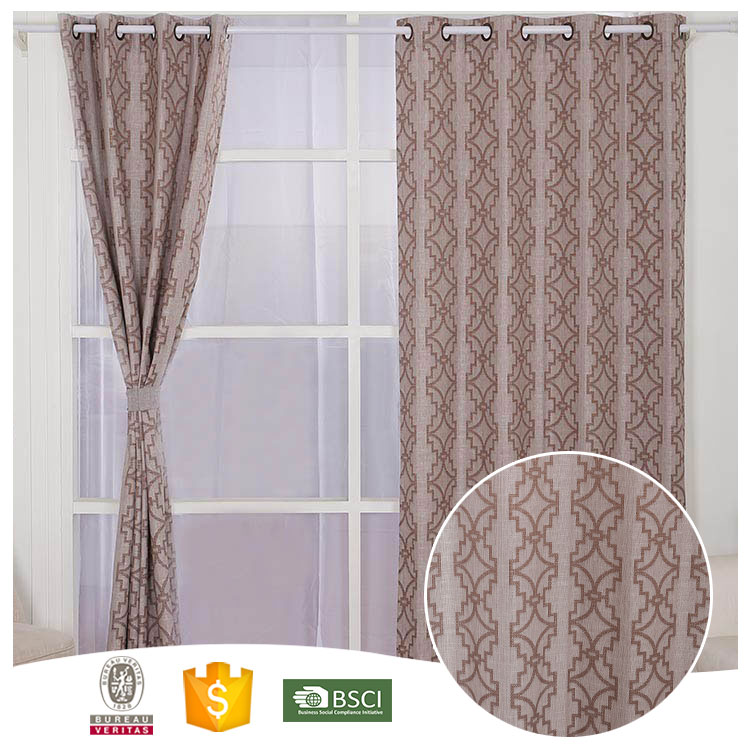 2016 Newest 10 Years Experience Flower lace valance curtains