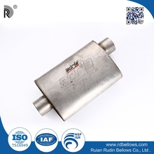 Cheap price high performance various types car stainless steel engine of muffler