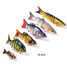Big size length hard plastic jointed pike fishing lures