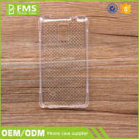 Customized Printable Wholesale Clear Transparent Ultra Slim Case For Samsung S4 Mini