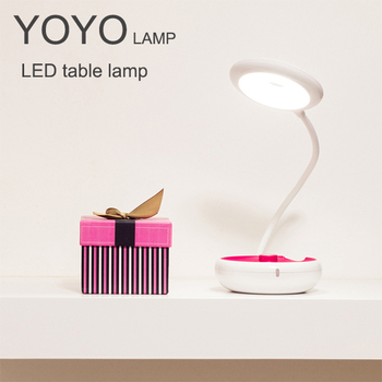 2W YOYO rechargeable LED dimmable desk lamp table lamp lights