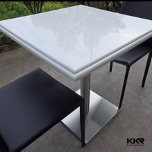 Seamless Joint Acrylic Solid Surface Meeting Table / Conference Table