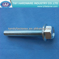 Stainless Steel Hex Flange Bolt DIN6921 class4.8/8.8/10.9