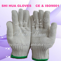 Automatic machine sewing glove