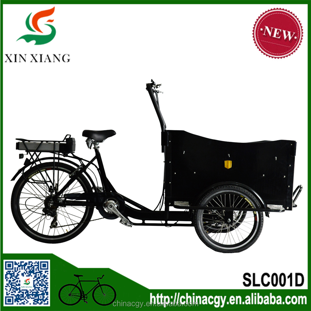 New design hot trading products 3 wheel cargo bike cargo trike dutch cargobike