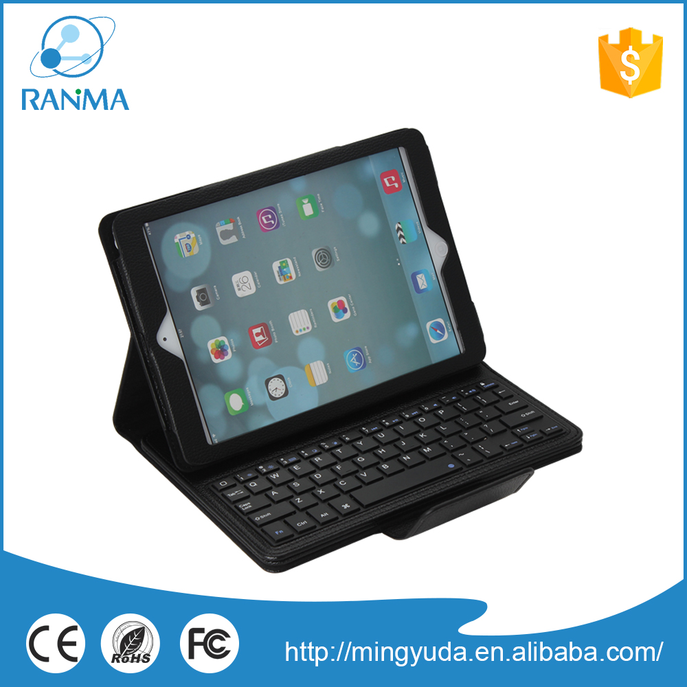 Universal PU Leather 9.7inch tablet keyboard case for ipad air