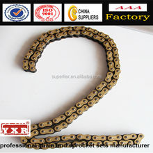 530 45Mn plate high tensile motorcycle roller chain from Chinses supplier Superlier