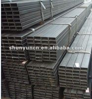 Hollow section black iron carbon steel square tube size(Q235B,ASTM A36,SS400,S235JR,Q345B,S335JR)