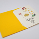 Promotional Custom Wedding Invitation Cards Musical Wedding Card Handmade Cards Greeting