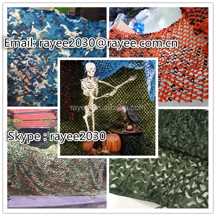 Military camouflage net, Camo mesh nets for Miliatry/Hunting/Event/Shade use ,red de camuflaje, bulk roll camo netting