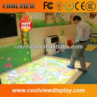 1024*768 pixels entertainment advertising custom size CE certificate interactive floor projector system