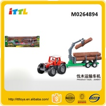 Special design farmer truck diecast truck model toy with wood