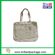 wholesale cotton material and handle style vegetable grocery tote bag