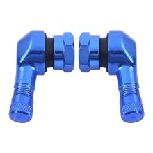 High performance 90 degree CNC aluminum motorcycle rim tire tyre valve stems