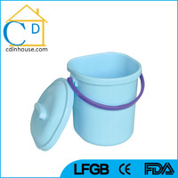 10L 12L Plastic Water Bucket with Lid