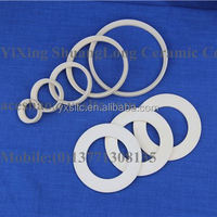 Alumina Ceramic Pipes Threaded Ceramic Tubes